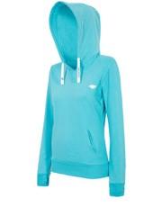 Sweter [T4Z16-BLD002] Bluza damska BLD002 - turkus jasny - - 4f.com.pl 4F